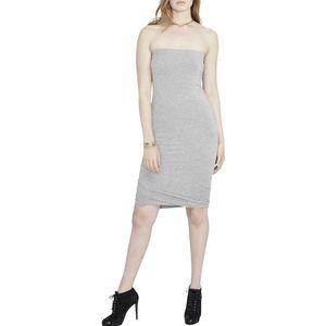 Rachel Rachel Roy Gray Strapless Tube Dress s nwt